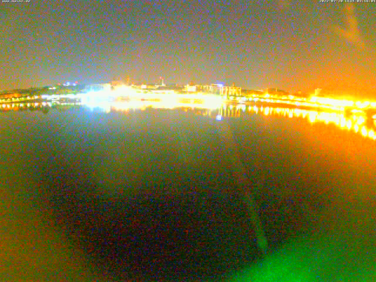 Webcam Mainzer Skyline