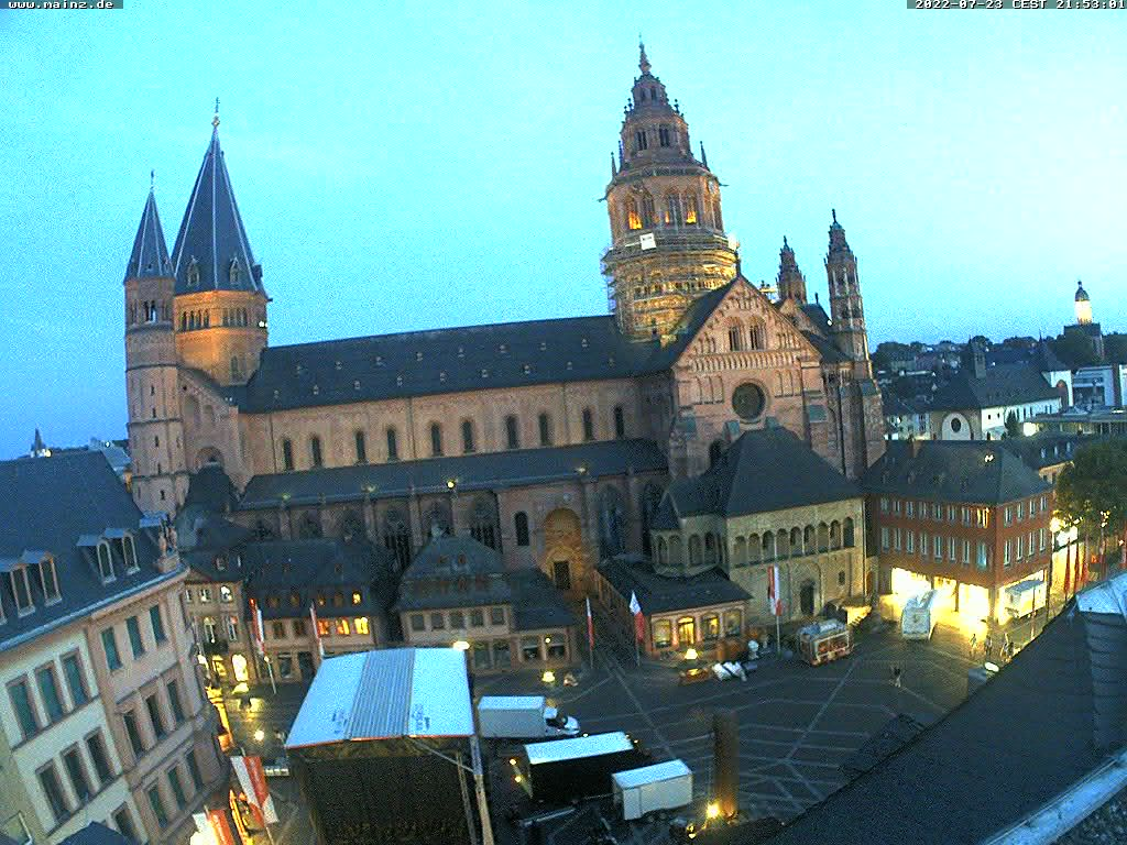 Webcam Mainzer Dom