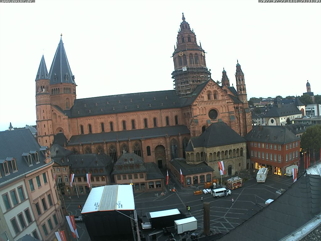 Mainz Cathedral and Marketplace
